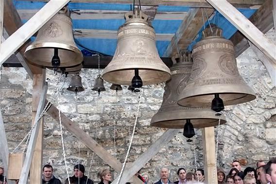 Освештана знона у цркви Светих Апостола Петра и Павла у Бијелом Пољу