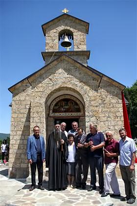 Видовдан прослављен у новоосвештаној цркви Лазарици на Буковој Пољани