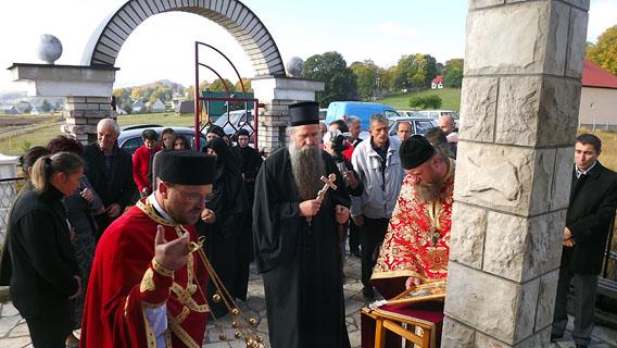 Владика Јоаникије служио парастос Владимиру Стијеповићу у Јаворју код Жабљака