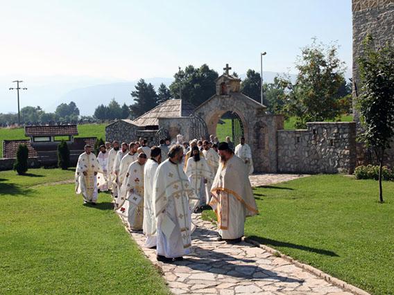 Прослављена Крсна слава Епархије будимљанско-никшићке
